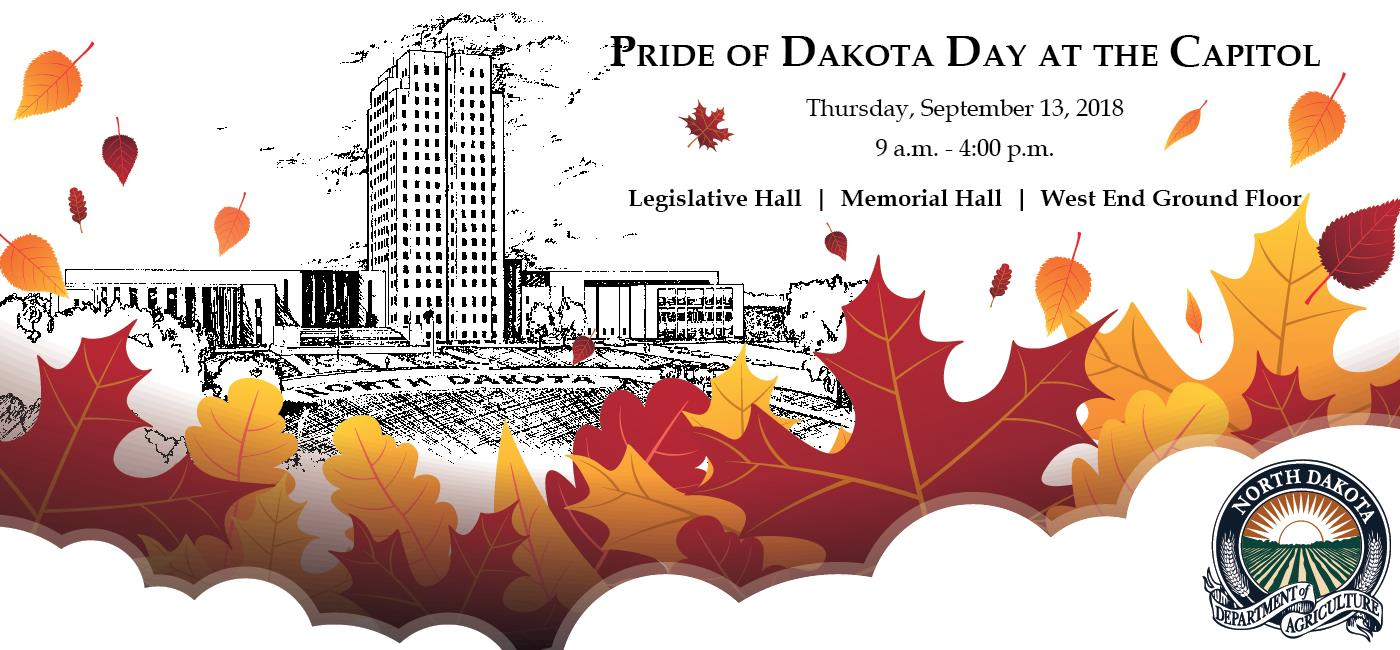 Pride of Dakota Day at the Capitol, Thursday September 13, 2018