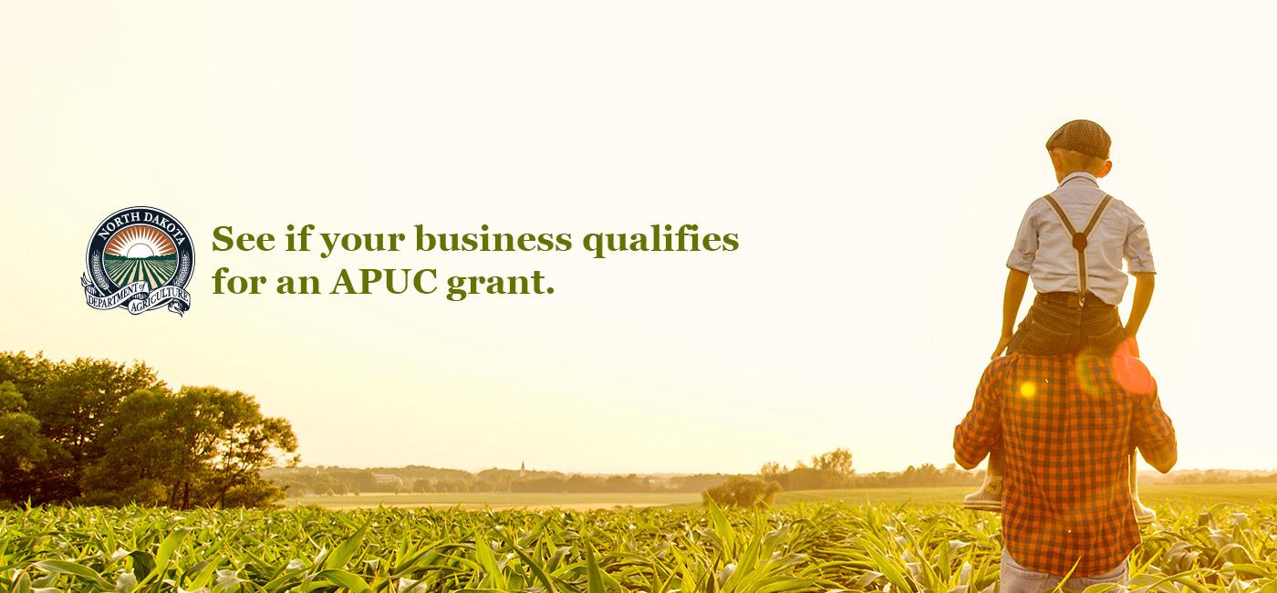 Create new wealth and employment opportunities through the development of new and expanded uses of North Dakota's agricultural products through this grant program