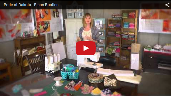 Bison Booties video